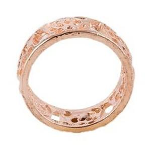 Rose Gold Alloy Ring for Women