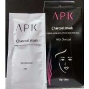 Pack of 10 Peel Off Charcoal Mask Ultra Purifying - Charcoal Black