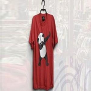 Red Panda Print T-Shirt-ON363S