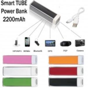 Smart Power Bank 2200mAh | Pocket Power Bank | Tube Power Bank | Multicolor with Micro USB Cable