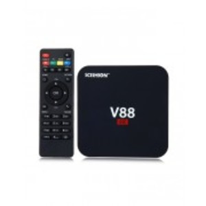 V88 Piano Android Smart TV Box Quad Core 4GB+16GB