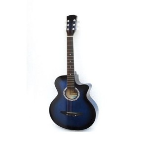 Semi Professional Acoustic Guitar-39 inches-Blue