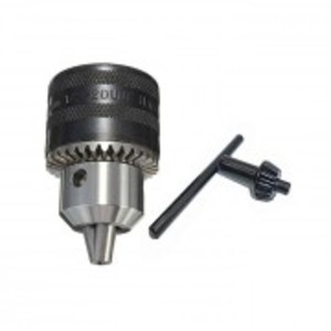 """.5-13mm Rotary Hammer Drill Chuck 1/2""""-20UNF Thread With Metal Key Spanner Tool"""