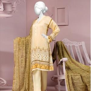 3 Pcs Unstitched Royal Delight Lawn Vol. 1 Collection Suit-JLAWN-S-18-017/B