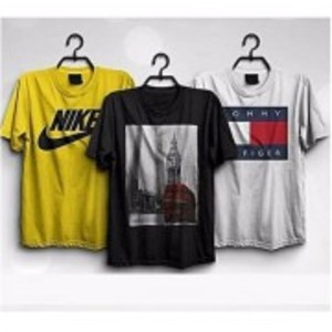Pack Of 3 Printed T-Shirt-TS399