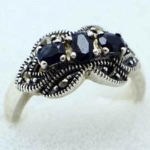 Sapphire Stone Ring -Multicolor-GB1902