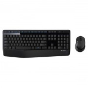 MK345-Keyboard & Mouse Wireless Combo-Black