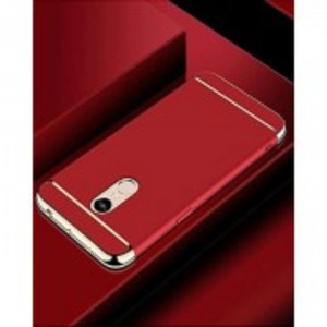 Xiaomi Redmi 5 Plus Anti Shock Case - 3 Piece - Red