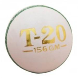 T20 Hard Ball (156g Corkball) - White