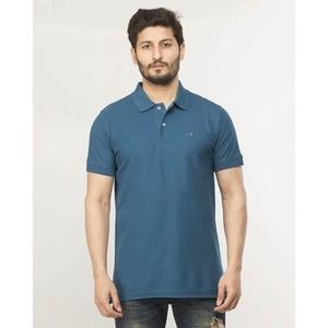 Navy Plain Cotton T-Shirt-870 Polo Navy
