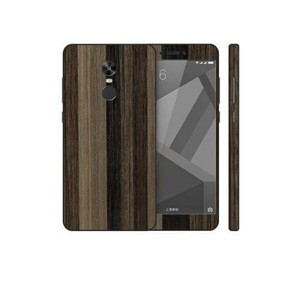Xiaomi Redmi Note 4X Brown Stripped Wooden Texture Skin-DT7428