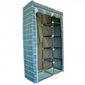 Storage Cabinet Wardrobe and Side Shelves