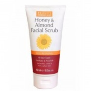 Beauty Formula Honey & Almond Facial Scrub-150ML