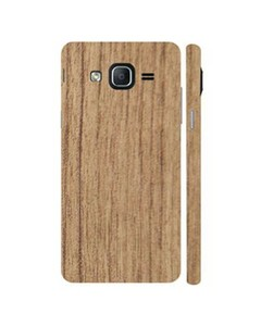 Decor Today Samsung Galaxy On5 2015 Mahogany Wooden Texture Mobile Skin-Back & Sides