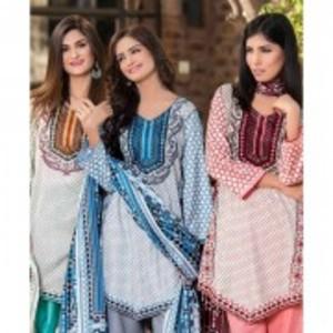 Multicolour Unstitched 4 PCS Sapna Lawn-5137