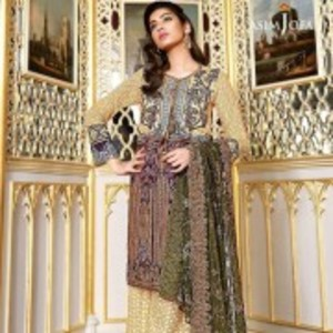 AJL-11B Luxury Lawn Collection 2018
