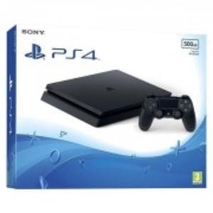Black PlayStation 4 Slim 500GB-Region 3