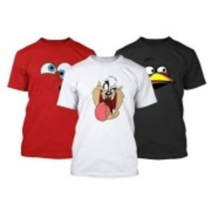 Pack Of 3 Printed T-Shirt-TS118