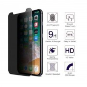 Anti-Spy Privacy Tempered Galas Screen Protector For iPhone XS Max (6.5 inch)