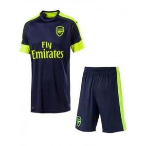 Blue Polyester Arsanal Football Kit-XL
