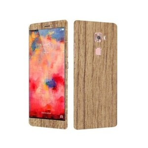 Wooden Texture Skin For Huawei Mate S-Mahogany-DT4932