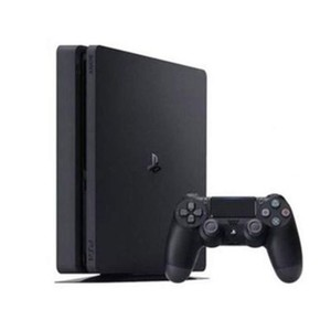 Black PlayStation 4 Slim-500 GB-Region 2 / PAL