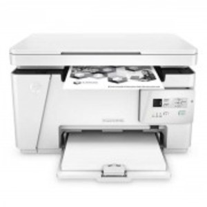 3-in-1 White  LaserJet Pro M26a MFP Printer