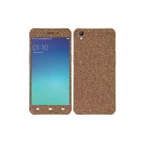Oppo A37 Coppery Glitter Skin-DT6793