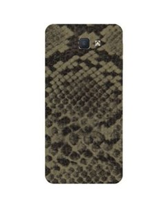 Decor Today Samsung On5 2016 Grey Brown Leather Texture Mobile Skin-Back & Sides