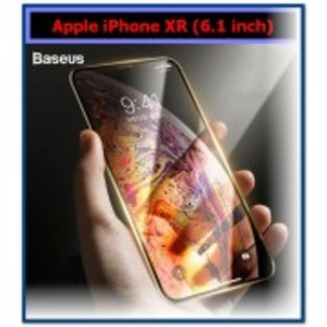 Baseus 0.3mm Tempered Glass Screen Protector Full Edge For iPhone XR (6.1 inch) 2018