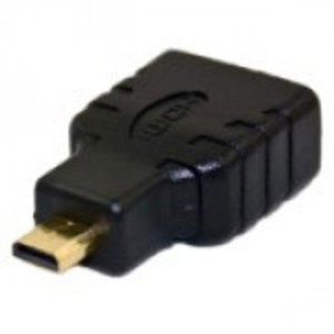 HDMI Female To Micro HDMI Male Joinder-Black