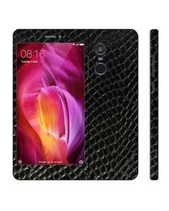 Decor Today Xiaomi Redmi Note 4 Black Snake Leather Texture Mobile Skin