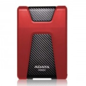 HD650-Anti-Shock Portable External 1TB Hard Drive-Red