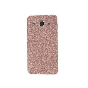 Samsung Galaxy J7 2015 Light Pink Glitter Skin-Back & Sides-DT2281B