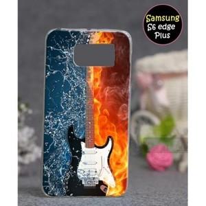 Samsung S6 Edge Plus Mobile Cover Guitar Style-Multicolor
