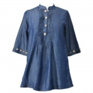 Khas Stores Denim 1 pcs Women Shirt KHT-009