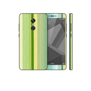 Xiaomi Redmi Note 4X Green Stripped Wooden Texture Skin-DT7438