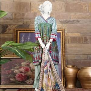 Unstitched 3pcs Eid ul Fiter Collection 2018-JLAWN-S-18-213/B Grandiose