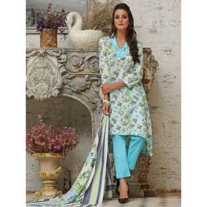 multicolour 3pc Suit Unstitched Universal Designer Lawn-UD Lawn-240
