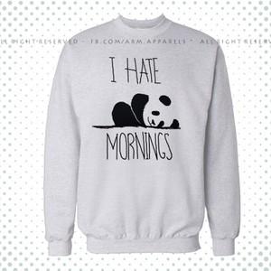 Heather Grey Printed Fleece Sweatshirt-IHM-01SWHeatherGray