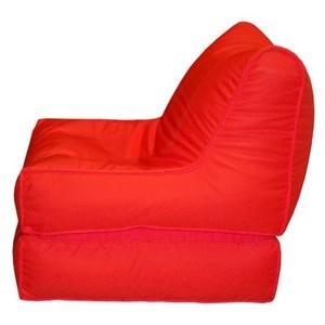 Red Sofa Cum Bed Bean Bag - SCBP 02 A