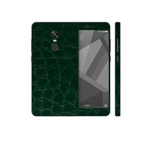 Xiaomi Redmi Note 4X 3M Green Crocodile Leather Texture Skin-DT7414
