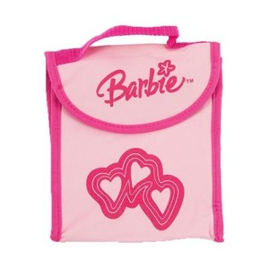 Single and Double Handle Barbie School Bag - Pink