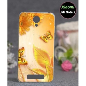 Xiaomi Mi Note 2 Case-Yellow Floral