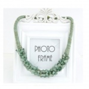 Stone Necklace - Green - AN31