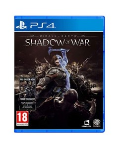 Sony PLAYSTATION 4 DVD SHADOW OF WAR PS4 GAME