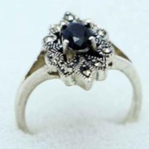 Sapphire Stone Ring -Multicolor-GB1900