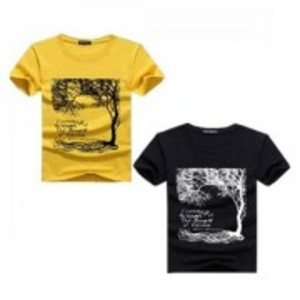 Multicolor Pack Of 2 Printed T-Shirt