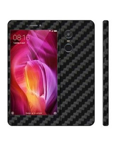 Decor Today Xiaomi Redmi Note 4 Black Carbon Fiber Texture Mobile Skin