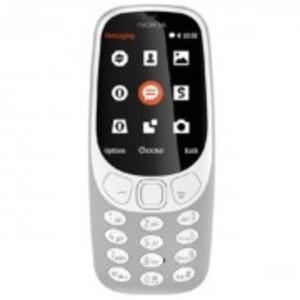 3310 - Dual Sim - 2.4 Inch Screen 16Mb - 2 Mp Camera - Grey